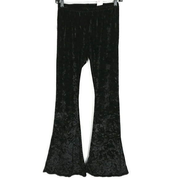 c6ebd24a5c488e Xhilaration Pants | Crushed Velvet Flared Bell Bottoms | Poshmark